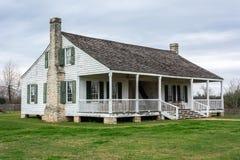 Barrington Living History Farm in Washington-op-de-Brazos, TX stock foto's