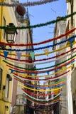 Barrio Alto Lisbon Stock Images
