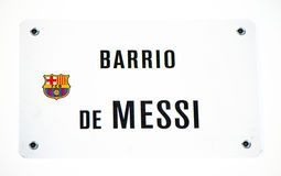 Barrio de Messi Stock Photo