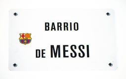 Barrio de Messi Stock Photo