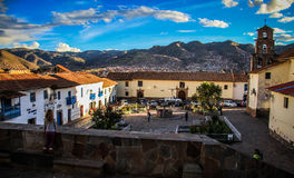 Barrio de San Blas, Cusco, Peru Lizenzfreie Stockbilder