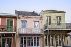 Barrio francés de New Orleans Imágenes de archivo libres de regalías