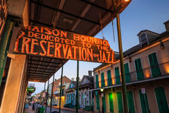 Barrio francés, New Orleans Fotos de archivo libres de regalías