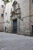Barrio Gotico Royalty Free Stock Image