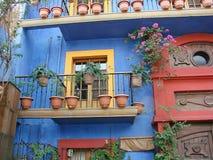 Barrio hispano Antiguo de Monterrey Ciudad vieja Foto de archivo libre de regalías