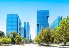 Barrio Nueva Las Condes in Santiago, Chile. Commercial center Nueva Las Condes in Santiago, Chile Royalty Free Stock Photos