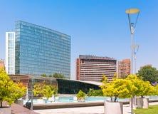 Barrio Nueva Las Condes in Santiago, Chile. Commercial center Nueva Las Condes in Santiago, Chile Royalty Free Stock Images
