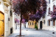 Barrio Paris-Londres in Santiago, Chile Royalty Free Stock Photo