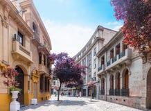 Barrio Paris-Londres in Santiago, Chile Royalty Free Stock Image