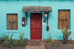 Barrio Viejo-Eingang Lizenzfreie Stockbilder