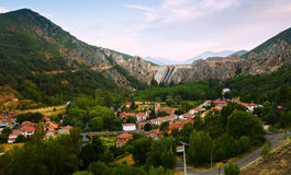 Barrios de Luna with dam. Leon,  Spain Stock Photography