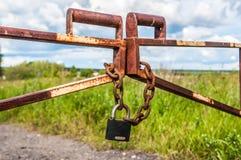 barriär Fotografering för Bildbyråer