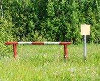 Barrière Photographie stock libre de droits