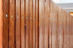 Barrière en bois Images stock