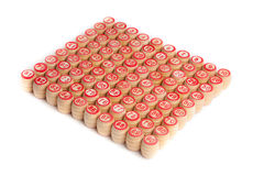 Barris de um lotto. Imagens de Stock Royalty Free