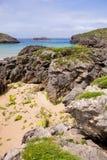 Barro strand royalty-vrije stock afbeeldingen