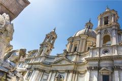 Barroco en Roma fotos de archivo libres de regalías
