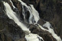 Barron峡谷瀑布 库存图片