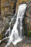 Barron понижается водопад в тропическом лесе, пирамиды из камней, Австралия Стоковое фото RF