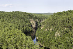 Barron Canyon im Algonquin-Park Stockfotos