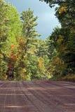 Barron Canyon Road fotografering för bildbyråer