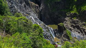 Barron Falls in Barron Gorge National Park, Australia stock video footage