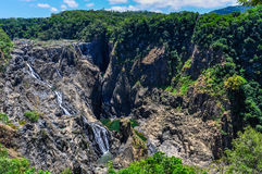 Barron Falls i Kuranda, Australien fotografering för bildbyråer
