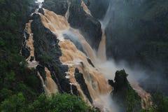 Barron Falls i Queensland Royaltyfri Fotografi