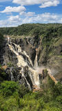 Barron Falls QLD. Barron Falls  National Park QLD Australia in the wet season Stock Image