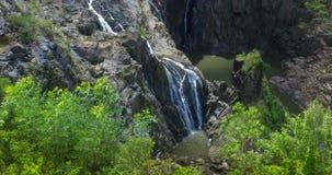 Barron Falls Queensland, Australien arkivfilmer