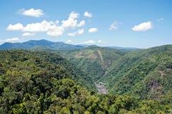 Barron Gorge och kraftverk royaltyfria foton