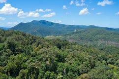 Barron Gorge och maxima arkivfoto