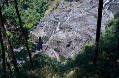 Barron Gorge Waterfall och klippa arkivfoto