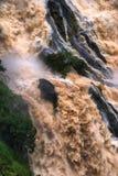 Barron klyftavattenfall fotografering för bildbyråer