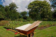 Barrow. At botanic garden in copenhagen Royalty Free Stock Photo