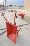 barrow betonu koło Fotografia Royalty Free