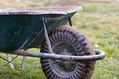 Barrow. A dirty building tool barrow Royalty Free Stock Photo