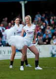Barrow Raiders cheer leaders Stock Photos