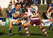 Barrow Raiders v Batley Bulldogs Royalty Free Stock Image