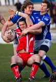 Barrow Raiders  v Leigh Centurions Royalty Free Stock Photo