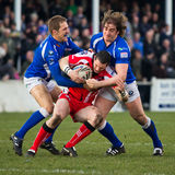 Barrow Raiders v Leigh Centurions royalty free stock images
