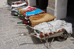 Barrows in Qatar Royalty Free Stock Images