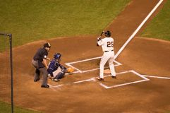 Barry Bonds last Game as a Giant Royalty Free Stock Images