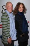 Barry Diller, Diane Von Furstenberg royalty-vrije stock fotografie