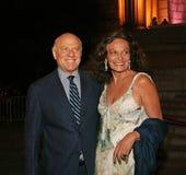 Barry Diller et Diane von Furstenberg Photos stock