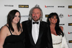 Barry Gibb. And family at the G'Day USA Australia Week 2011 Black Tie Gala, Hollywood Palladium, Hollywood, CA. 01-22-1 at the G'Day USA Australia Week 2011 Stock Image