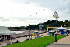 Barry Island, Galles del sud, Regno Unito immagine stock