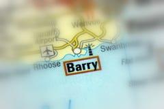 Barry Island, Glamorgan, Zuid-Wales stock foto