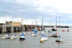 barry Island harbour, marina South Wales, UK Stock Photos