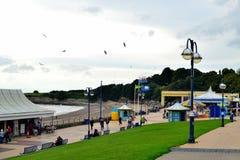 Barry Island södra Wales, UK fotografering för bildbyråer